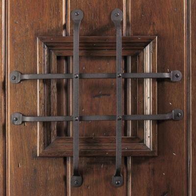 Main Door Rustic Mahogany Type Prefinished Distressed Solid Wood Speakeasy Entry Door Slab Sh 901 Ru Grill Door Design Glass Doors Interior Wood Doors Interior
