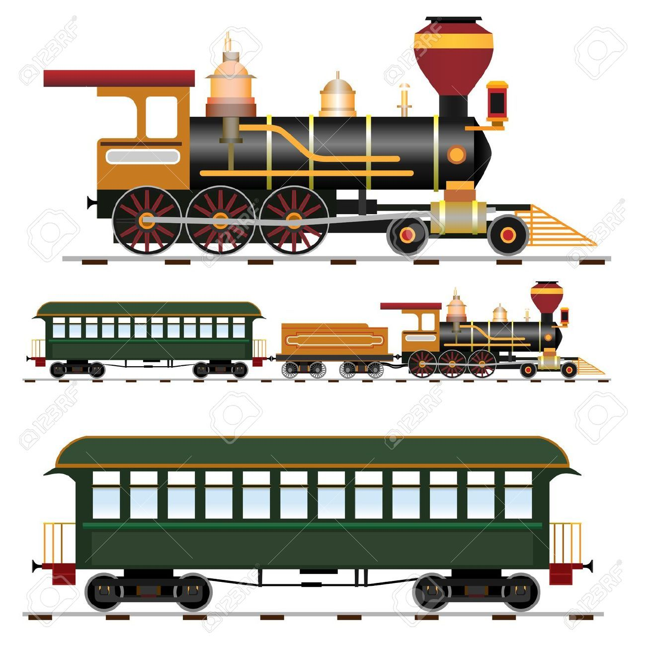 tatouage toy trains