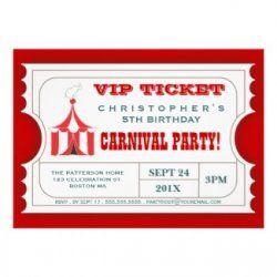 Carnival Invitation And More Ideas