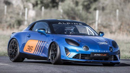 Alpine A110 Cup To Make Customer Racing More Beautiful From 2018 Race Cars Renault Alpine Sports Cars