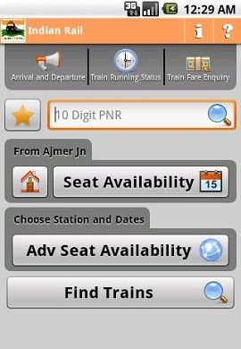 Indian Rail Info APK FREE Download | Go4mobileapps | Train ticket