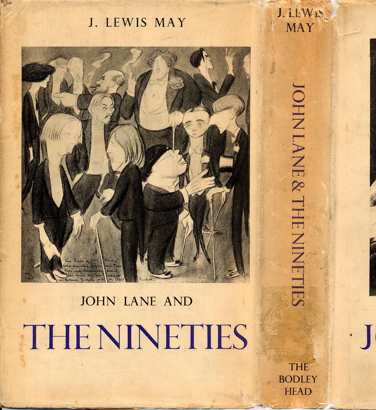 Edward Heron-Allen: Dust Jacket, John Lane and the Nineties. John Lane was nemesis to Heron-Allen in the Sette of Odd Volumes.