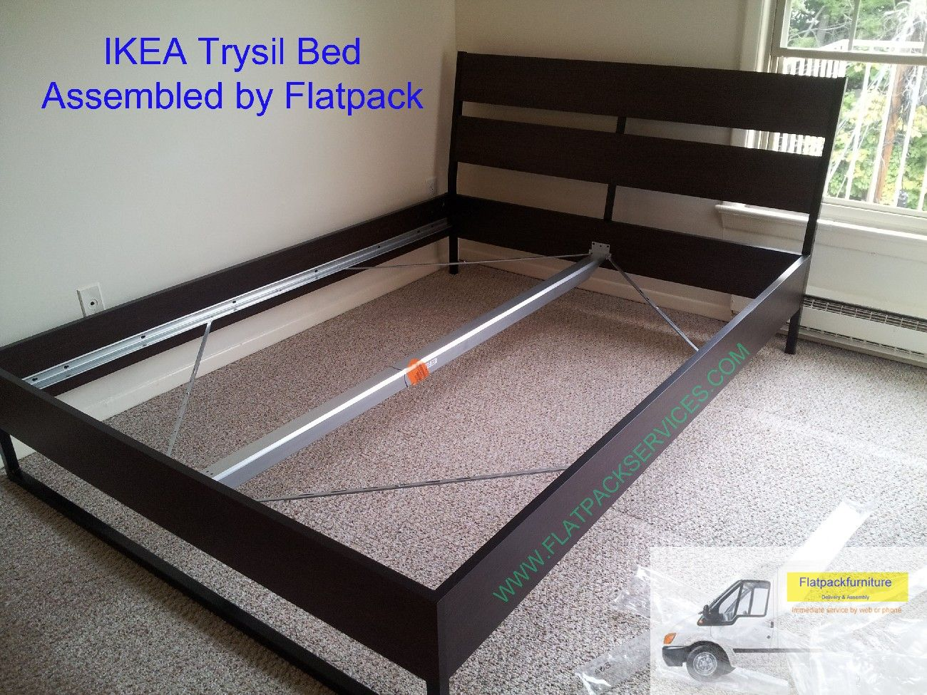 Beau TRYSIL Bed Frame Article Number: 090.078.13 Assembled By Flatpack Service  Assembly 240 603 2781 Furniture Assembly Washington DC | IKEA Furniture  Building ...
