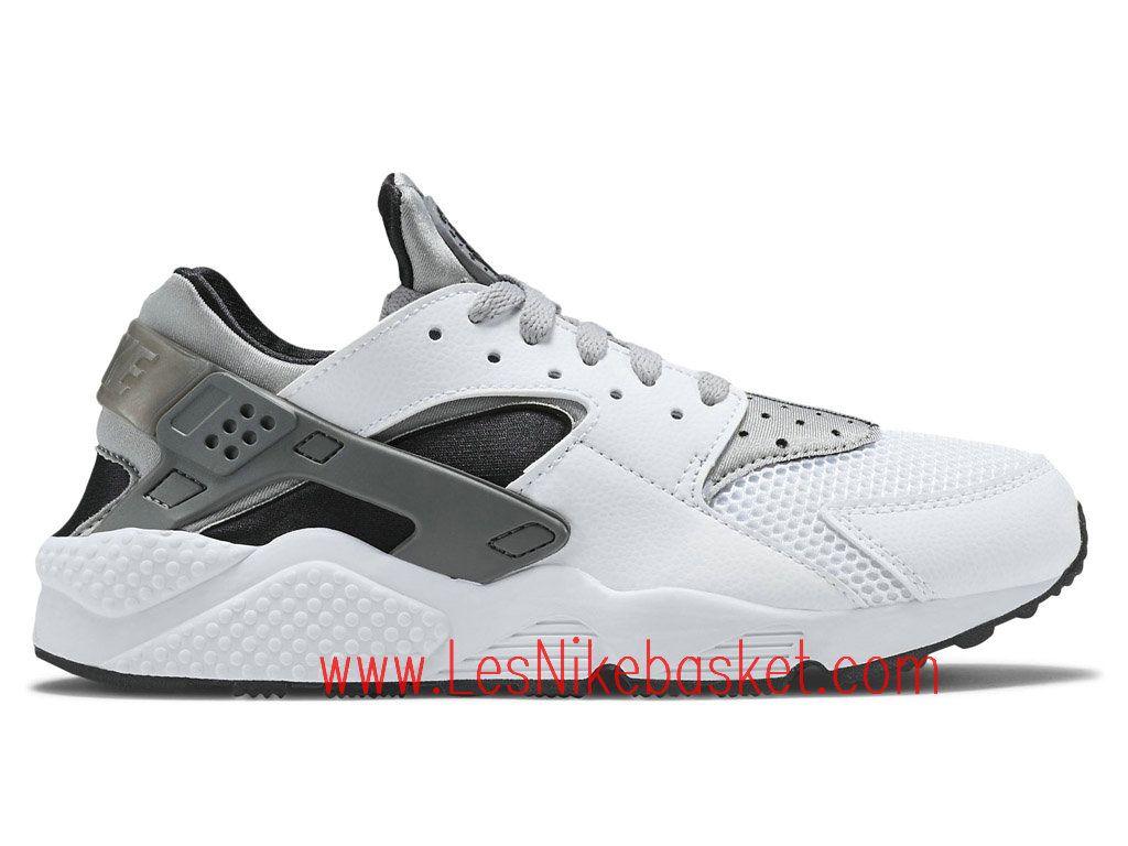 Running Homme Nike Air Huarache Wolf Gris 318429 101 Nike