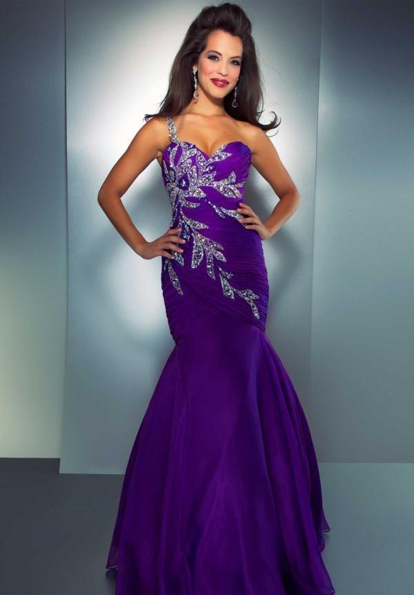 royal purple prom dress - Google Search | Senior Prom | Pinterest