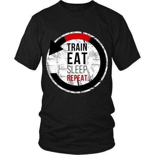 93a0362b Brazilian Jiu Jitsu T Shirt - Train Eat Sleep Repeat | Products ...