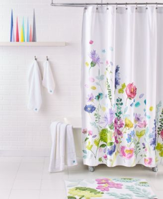 Bluebellgray Tetbury Meadow 72 Square Shower Curtain