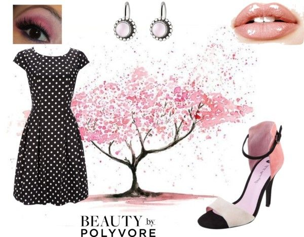"""Spring Polka Dot"" by connie-mcclurg-mick on Polyvore"