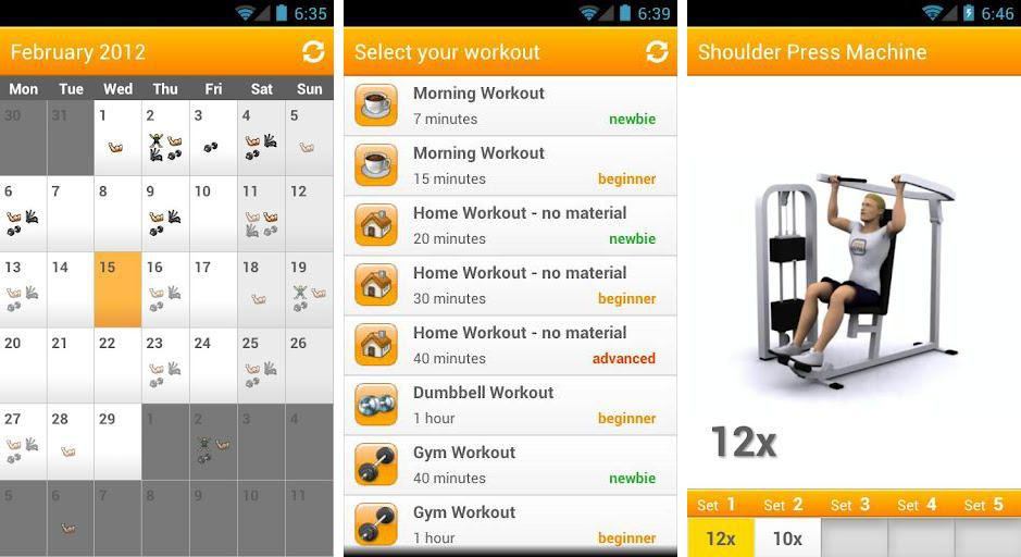 Top 10 Best Fitness Apps At home workout plan, Fun