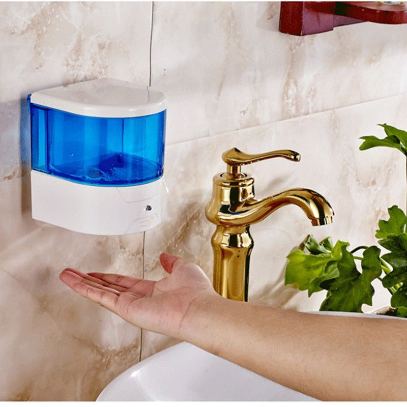 600ml Automatic Soap Dispenser Pump Sensor Touchless Soap Dispenser For Public Toilet Bar Offi Soap Pump Dispenser Automatic Soap Dispenser Foam Soap Dispenser