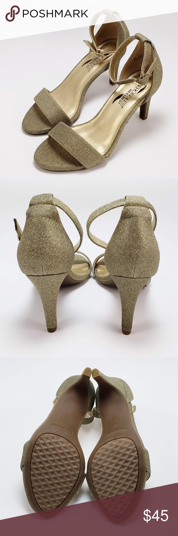 47d59b566435 Aerosoles Laminate Dress Pump Gold - 7 Aerosoles Laminate Dress Pump    Gently Used   Color  Gold Size  7 Heelrest technology Padded Insole AEROSOLES  Shoes ...