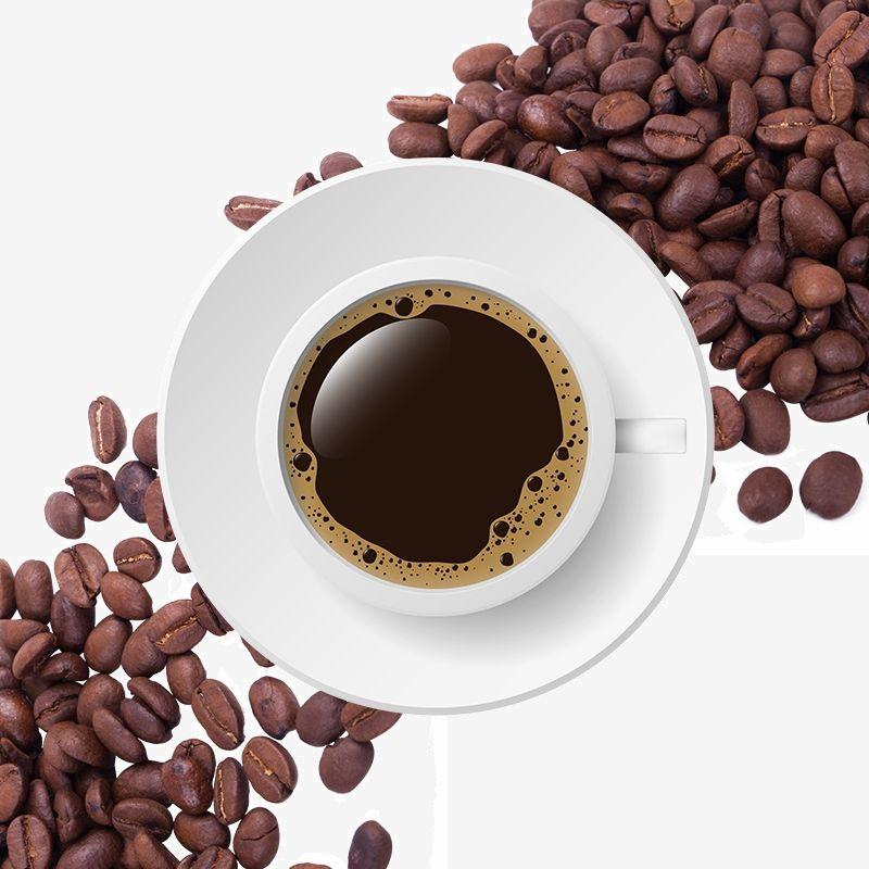حبوب القهوة الإبداعية بيضاء خلفية القهوة حبوب البن الخلفية Dog Food Recipes Coffee Kitchen Creative Coffee