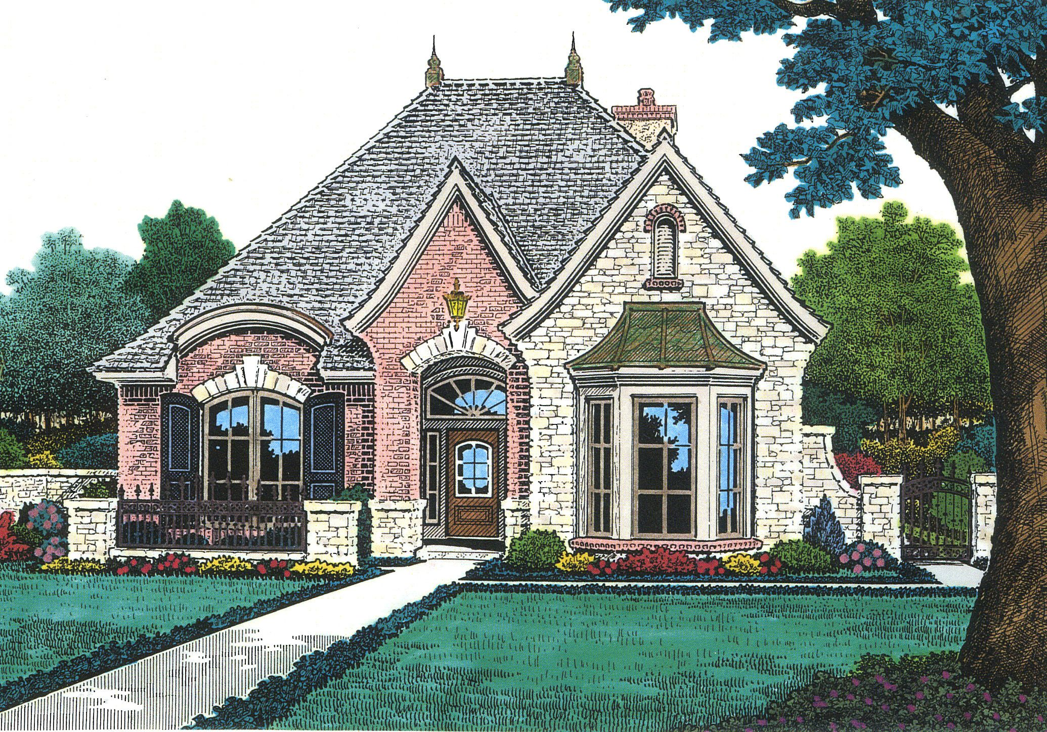 eplans house plan this enchanting stone cottage is a beautiful eplans house plan this enchanting stone cottage is a beautiful example of french country living inside a dining room and study guest suite flan