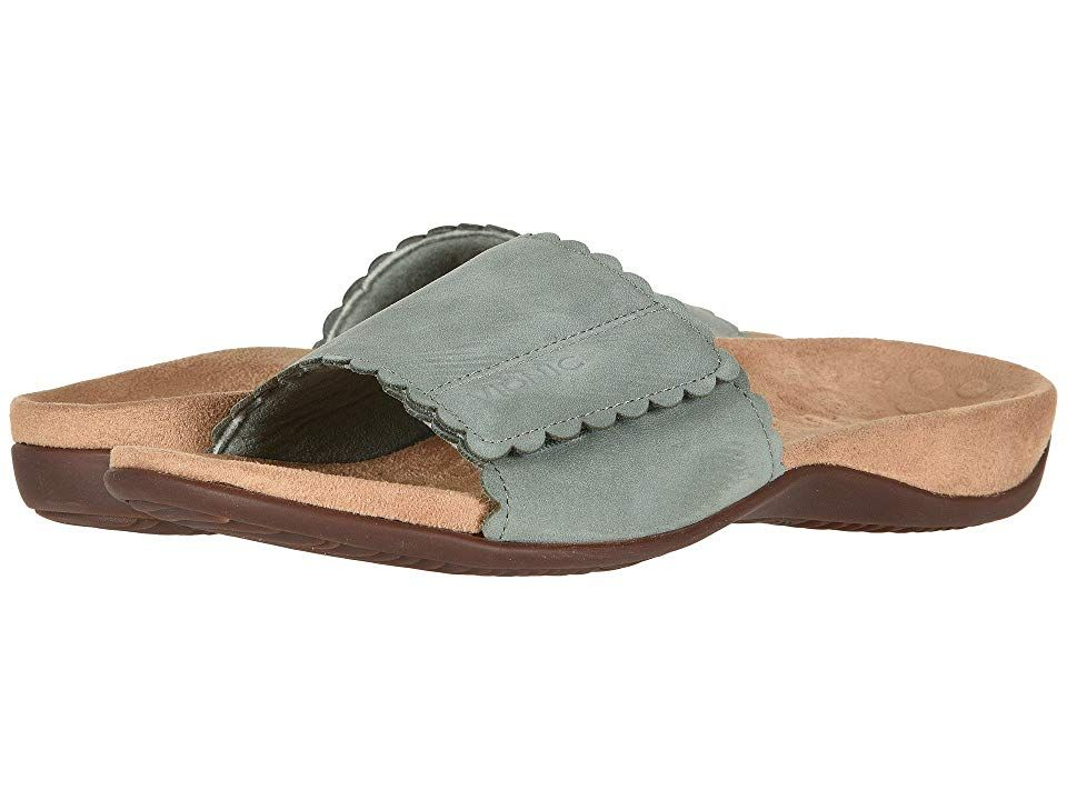 VIONIC Florence (Mint) Women's Sandals. Travel the world in