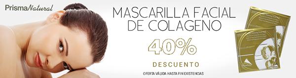 Cosmética natural: Mascarilla Facial Blanqueante de Colageno Prisma Natural con el 40% desc (unidades limitadas) http://www.body-vip.com/cosmetica-natural/23532-mascara-facial-blanqueante-con-colageno-8436048043082.html