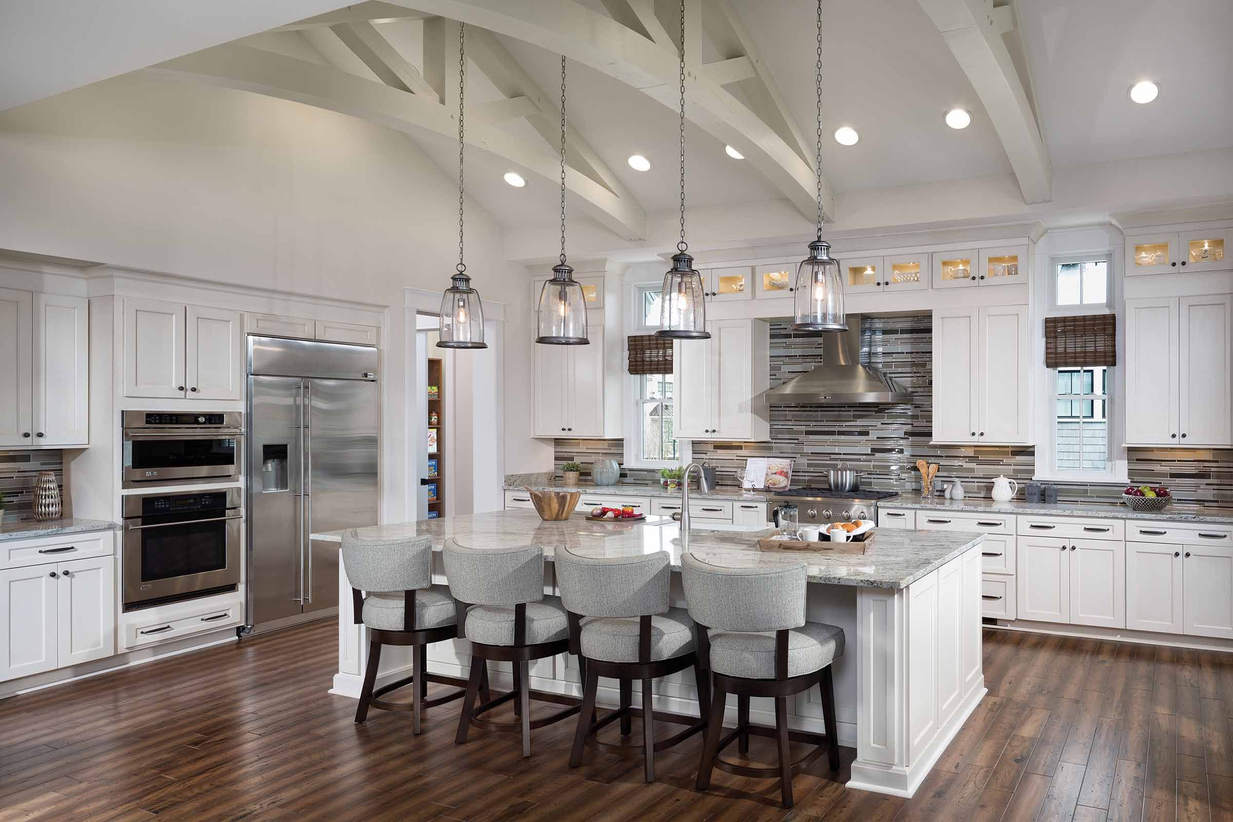 Board Between Cabinets And Glass Cabinets Arthur Rutenberg Homes Latest Kitchen Trends Model Homes