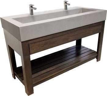 Concrete Sink Lavare 30 Inch Concrete Sink Trueform Concrete
