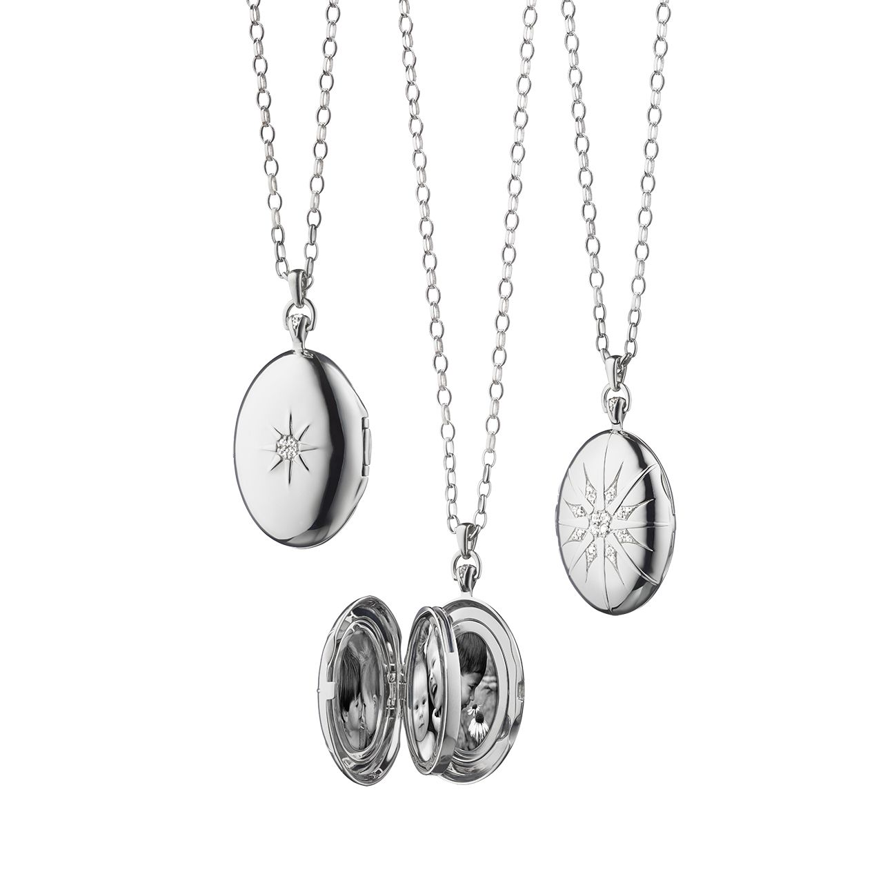 glass floating lockets cz clear and sapphire pandora crystal en locket