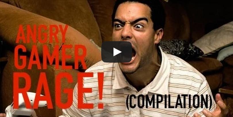 Angry Gamer Rage Compilation Gamer Rage Angry Game Rage