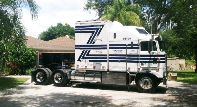 Big Kenworth Drome Box Kenworth Big Rig Trucks Trucks