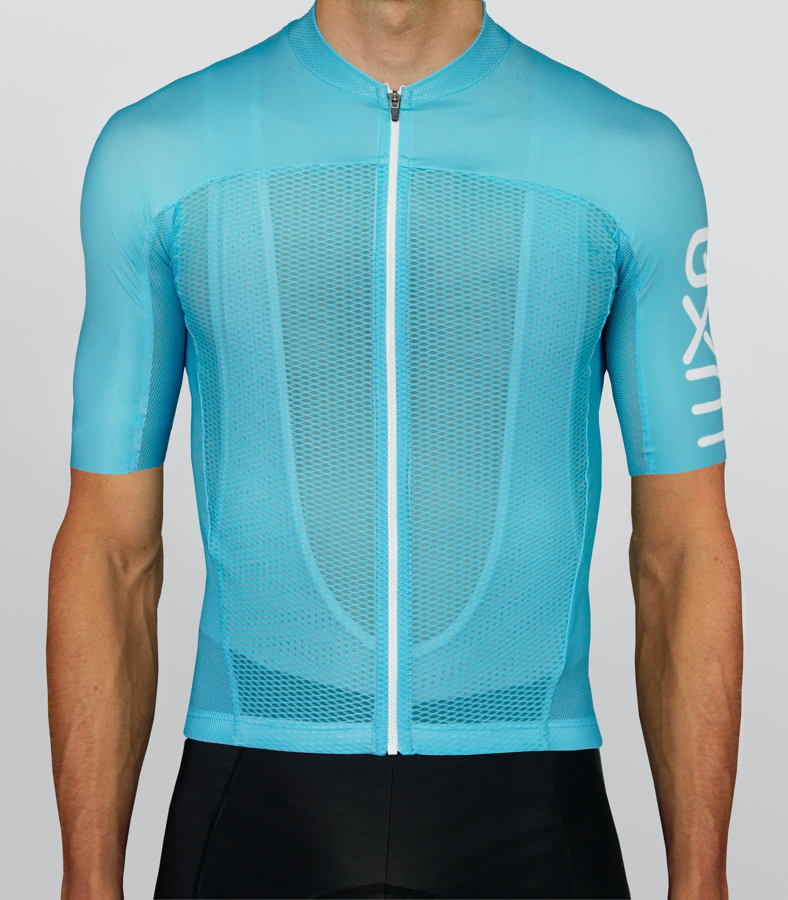96c48cb7e Summer Sky Jersey by Luxa. Made of innovative mesh fabrics. Designed  specifically for cycling on hot days. Solutions used in professional  peloton during ...
