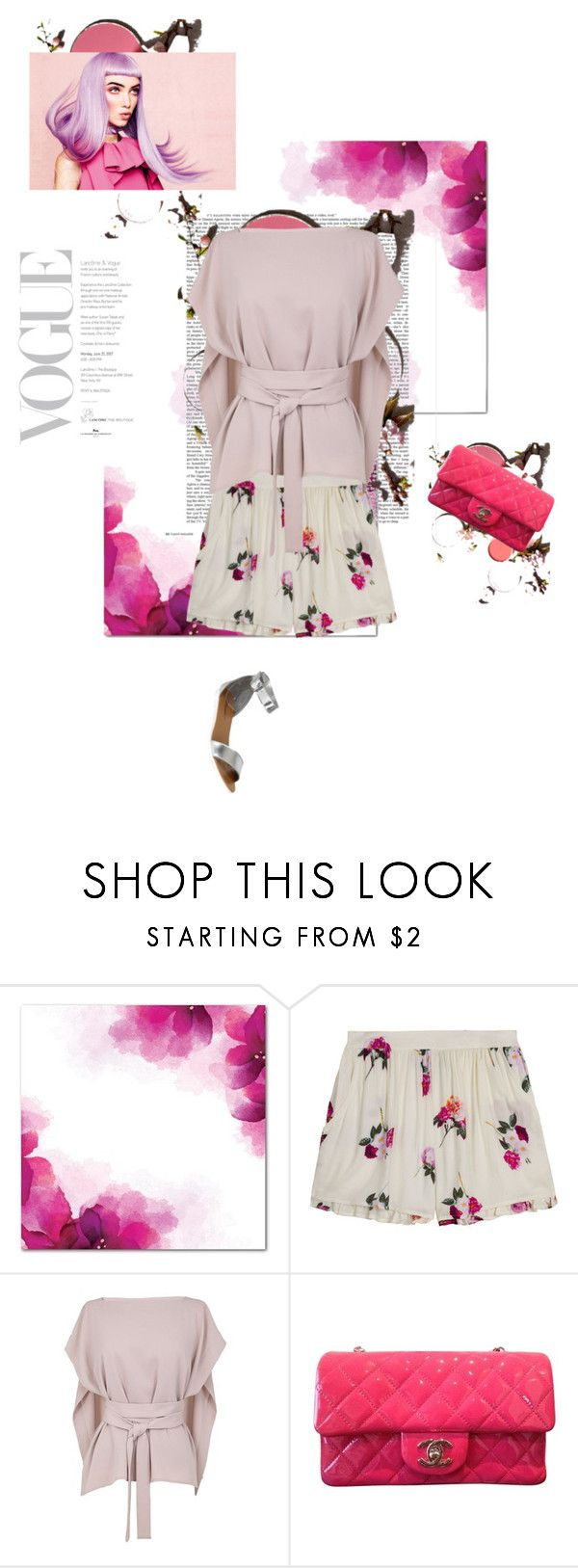 """""""Candy & Flowers - Yes, Please!"""" by aclaire ❤ liked on Polyvore featuring MINKPINK, TIBI, Chanel and Breckelle's"""