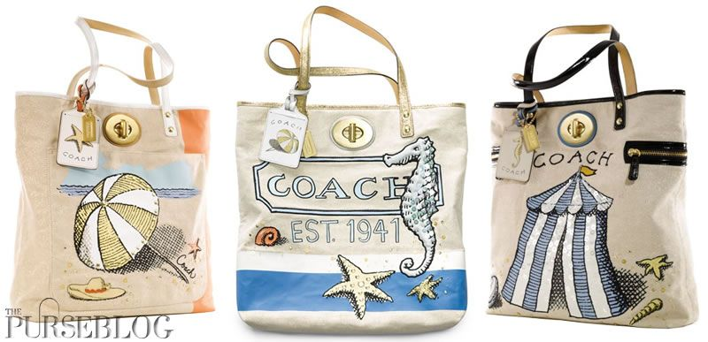 cost charm free shipping quite nice Coach Beach Collection | Bags, Handmade handbags, Purses ...