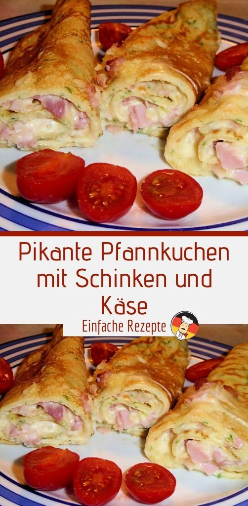 Photo of Spicy pancakes with ham and cheese Sprainnews