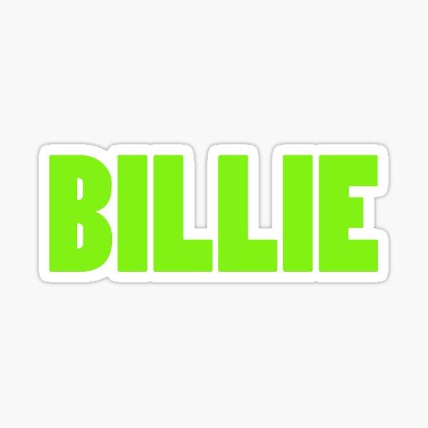 Billie Eilish Blohsh Stickers Billie Eilish Billie Stickers