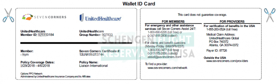 Policy Number On Anthem Blue Cross Insurance Card
