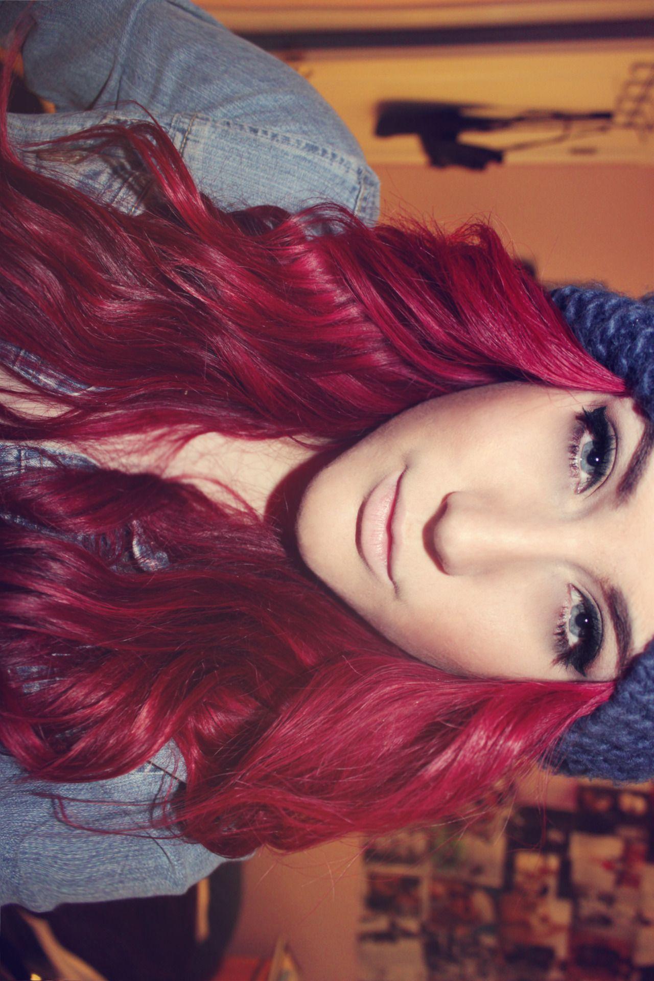 Red Hair Hair Color Wine Hair Red Hair