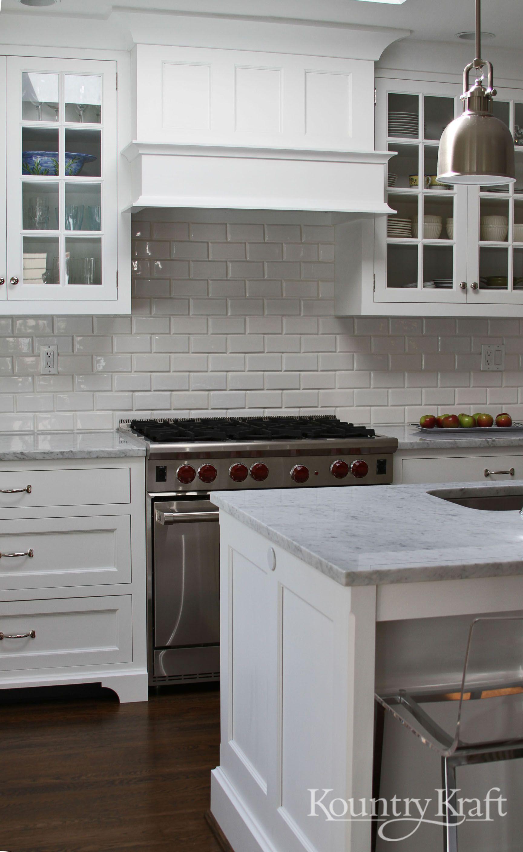 Custom Kitchen Cabinets Designed By Bradford Design Llc In Bethesda Md This Classic White Kitc Custom Kitchen Cabinets Kitchen Cabinets Classic White Kitchen
