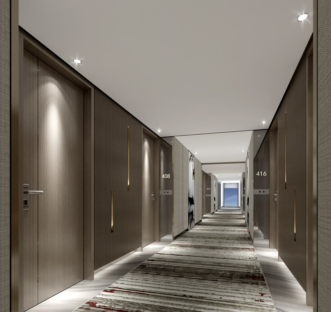 Nepal marriott at kathmandu pinterest for Hotel corridor decor
