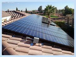 Arizona Solar Concepts Solar Roof Solar Panel Solar Panels