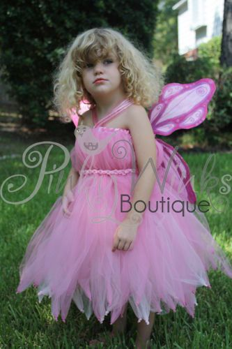 Custom Fairy Costume with handmade wings Tutus and Tutu Dresses