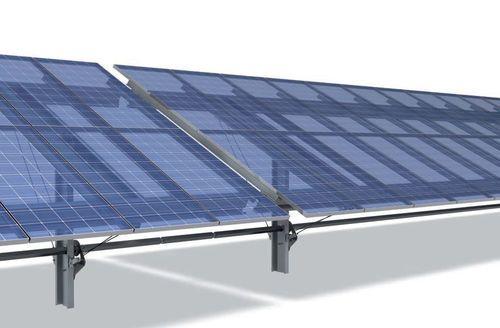 Single Axis Solar Tracker For Pv Installations Safetrack Horizon Ideematec