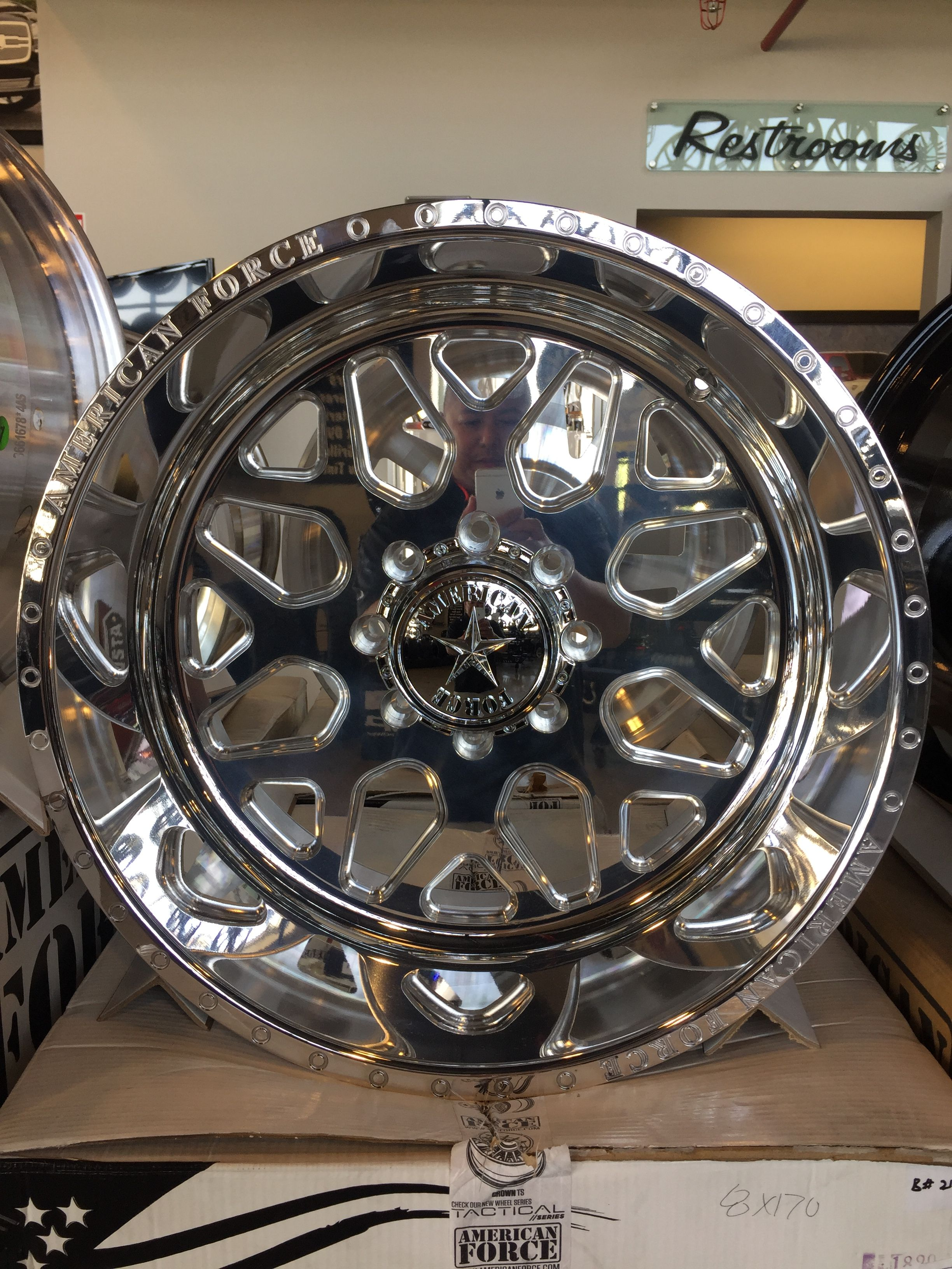 22x12 8x170 American Force Flux In Stock Special 2650 No Credit
