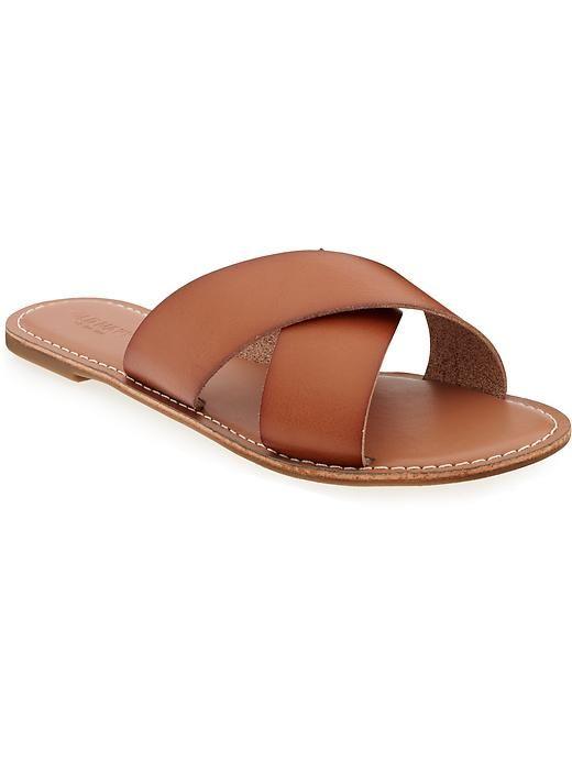 ec26ee99879 Criss-Cross Slides for Women. Criss-Cross Slides for Women T Strap Sandals  ...