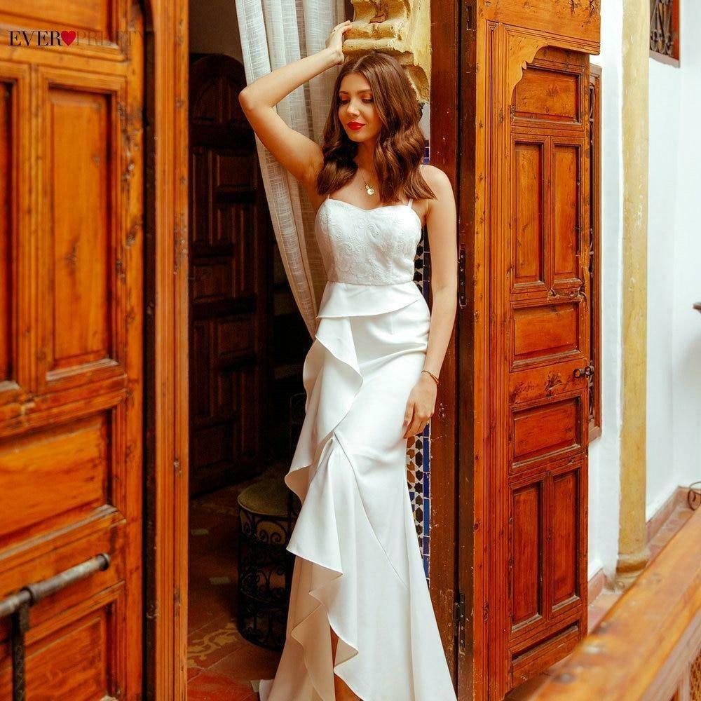 (eBay Ad) Elegant Lace Mermaid Wedding Dress A Line