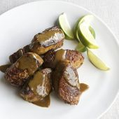 Photo of Pork medallions with curry honey glaze – Meat Entrees -…-S…
