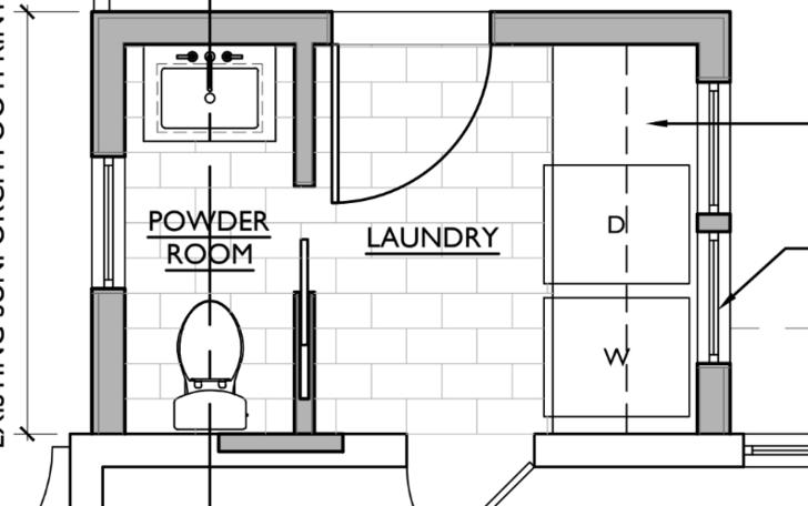 Floor Plan For Half Bath And Laundry Mud Room Mudrooms In 2020