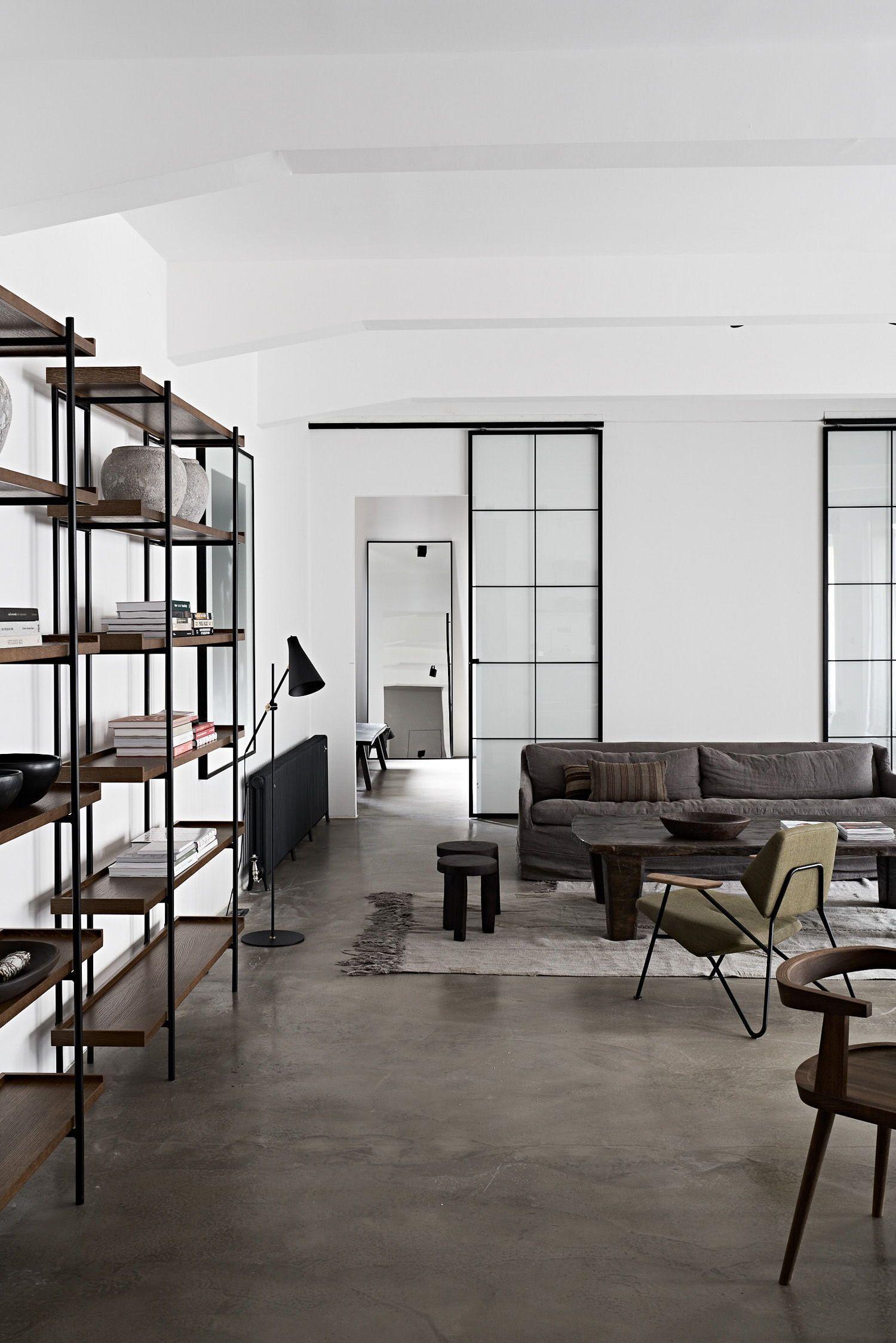 Industrial Loft Apartment Abitare Interior Design Blog In 2020 Loft Apartment Decorating Loft Interior Design Minimalist Apartment