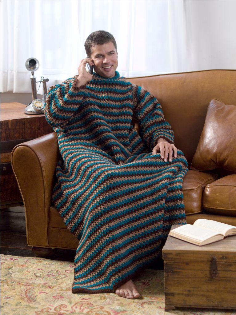 Haha A Crochet Quot Manly Man Throw Quot For Only The Manliest