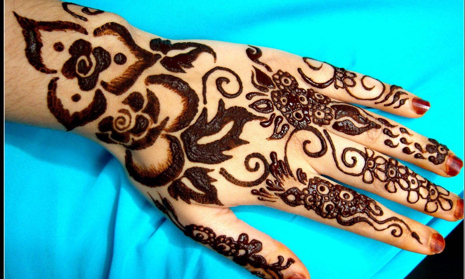 Mehndi Tattoo On Hand For Girls : Traditional henna designs and meanings tattoo