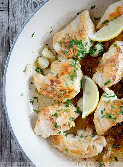 Rezept mit Bild für Knoblauch-Hühnchen