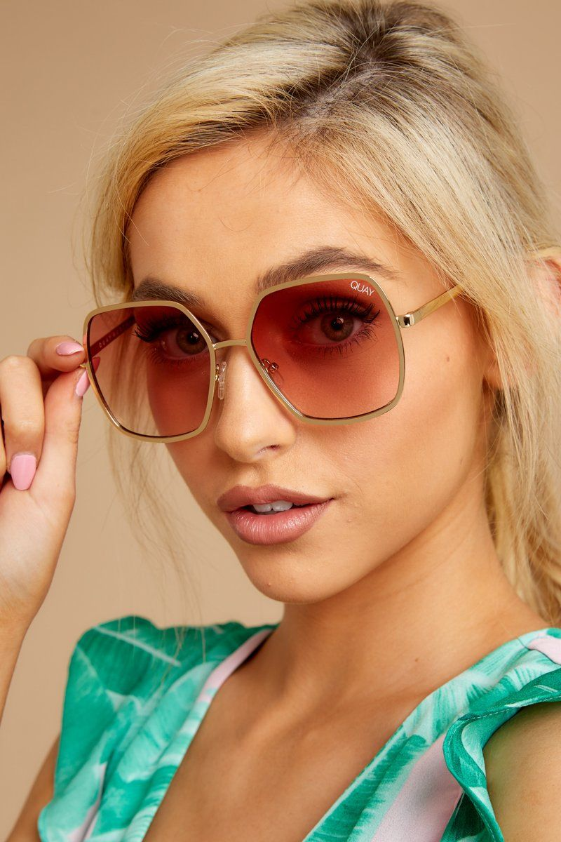 324ac872a7 Quay Australia Undercover Sunglasses - Pink Sunnies - Glasses -  60.00 –  Red Dress Boutique