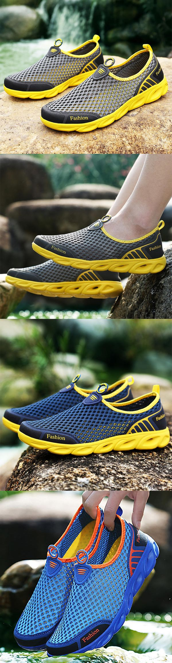 Comfy Breathable Mesh Sports Shoes images