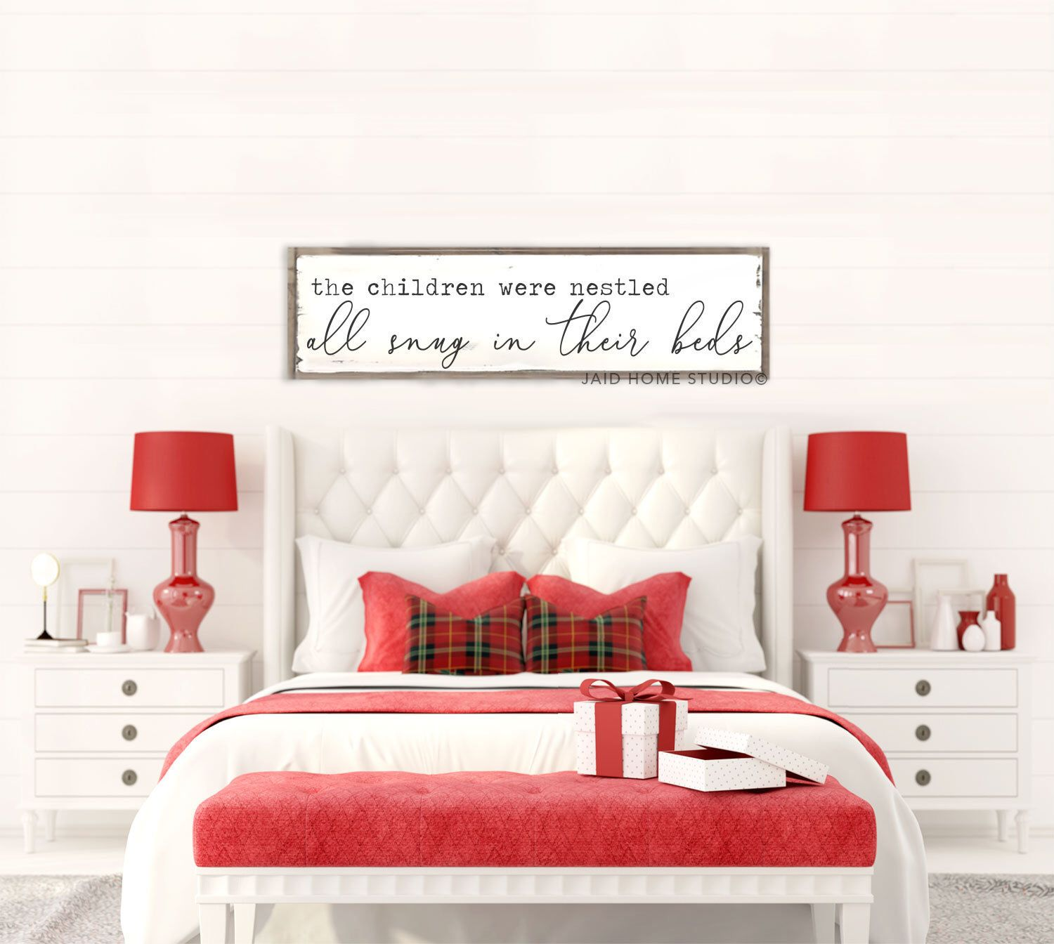 Pin By Jaid Home Studio On Christmas Above Bed Christmas Signs