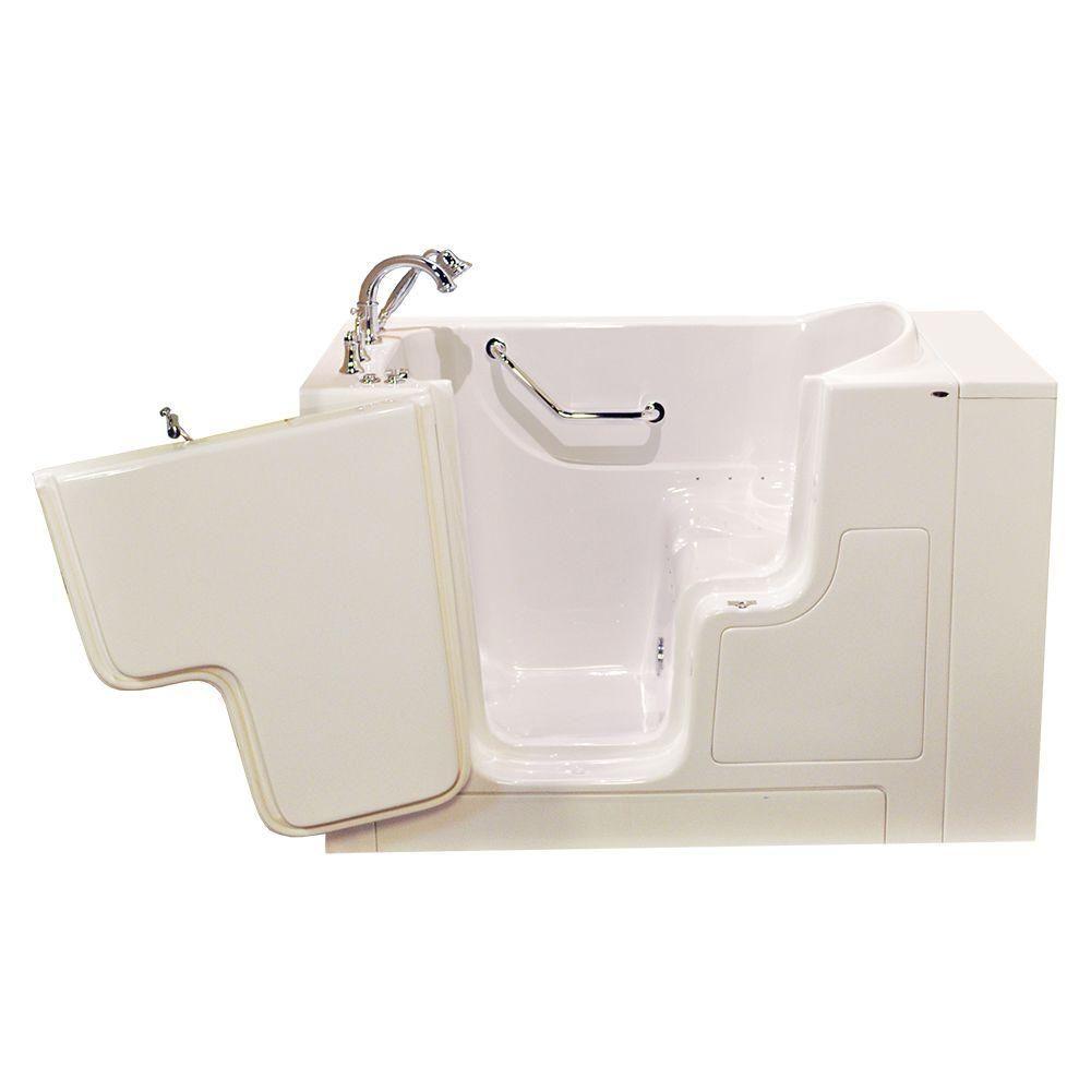 American Standard OOD Series 52 in. x 30 in. Walk-In Air Bath Tub ...