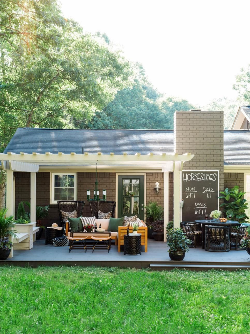 13 Easy Ways To Extend Your Outdoor Space Into Fall. Deck To Patio IdeasEasy  ...